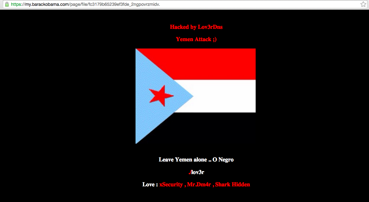 obama-campaigns-social-network-domain-hacked-by-yemeni-hackers